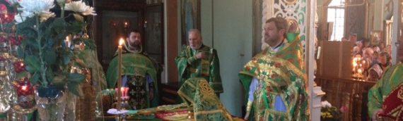 Престольный праздник в храме преподобного Серафима Саровского