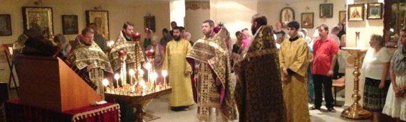 Праздничное богослужение в день памяти святых мучеников Маккавеев