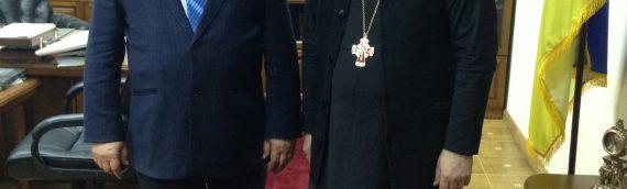 Состоялась встреча благочинного с главой Оболонской администрации