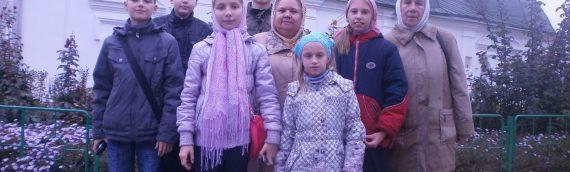 Дети нашего прихода приняли участие в паломнической поездке