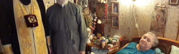 Посещение клириками храма протоиерея Владимира