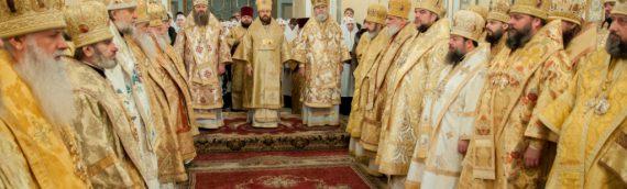 Сонм духовенства УПЦ молитвенно отметил день рождения Блаженнейшего Митрополита Владимира