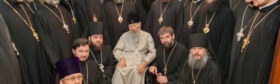Настоятель храма принял участие в поздравлении Блаженнейшего Митрополита Владимира с 78-летием