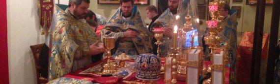Поздравляем всех с праздником Введения во храм Пресвятыя Богородицы!!!