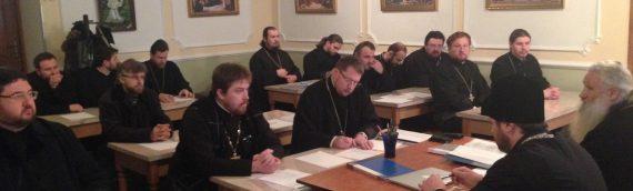 Состоялось собрание духовенства Оболонского благочиния
