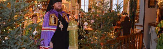 Епископ Боярский Феодосий возглавил соборное богослужение духовенства Оболонского района г. Киева в день престольного праздника в Пуще-Водице
