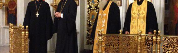 Настоятель совершил Всенощное бдение в Свято-Покровском храме на Оболони