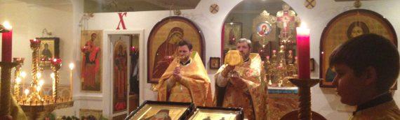В нашем храме начали Новый год с общей молитвы.