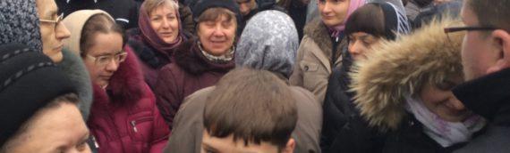 В Киево-Печерской Лавре совершен молебен об умножении любви и искоренении всякой ненависти и злобы