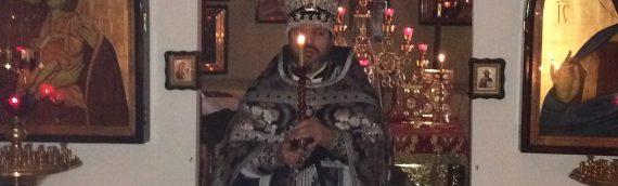 В нашем храме  была совершена Литургия Преждеосвященных Даров