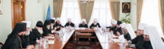 Звернення Священного Синоду Української Православної Церкви до єпископату, духовенства, чернецтва та мирян у зв'язку з останніми подіями в Україні
