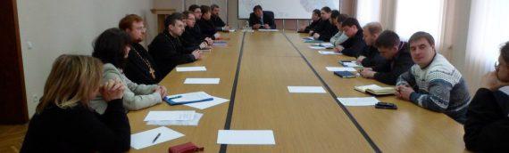 Духовенство благочиния приняло участие в заседании Оболонской РГА