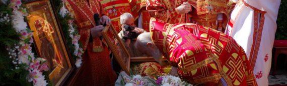 Настоятель принял участие в торжествах по случаю прославления преподобноисповедницы Смарагды