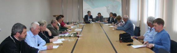 Настоятель принял участие в работе Общественного Совета Оболонского района