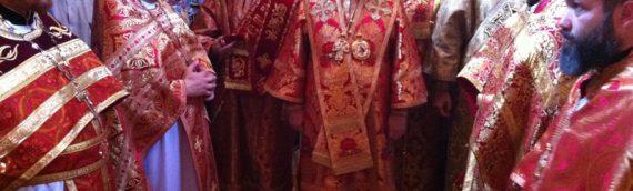 Управляющий Северным викариатством епископ Боярский Феодосий совершил литургию в храме в честь святых Царственных страстотерпцев