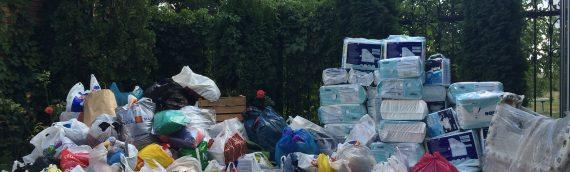 В Оболонском благочинии проведено сбор благотворительной помощи для вынужденых переселенцев с Восточной Украины.