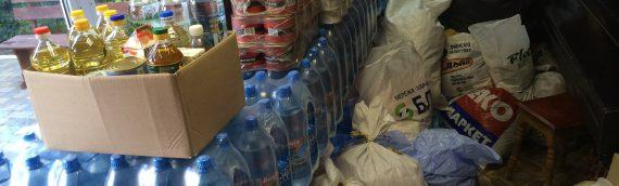 В Оболонском благочинии состоялся сбор материальной помощи для воинов в зоне АТО, а также для вынужденных переселенцев