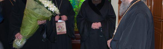 Духовенство Киевской епархии поздравило Блаженнейшего митрополита Онуфрия с 70-летием