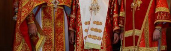 Настоятель храма сослужил блаженнейшему Митрополиту Онуфрию в столичном соборе святой равноапостольной княгини Ольги