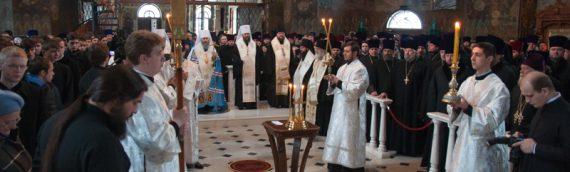 Предстоятель Украинской Православной Церкви возглавил заупокойную литию по всем погибшим на Киевском Майдане