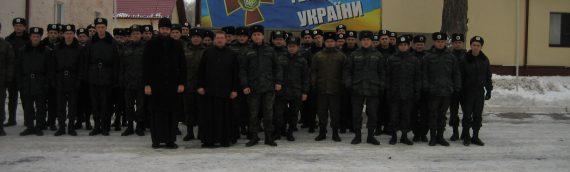 Священники благочиния посетили тренировочно-учебный центр Национальной Гвардии Украины
