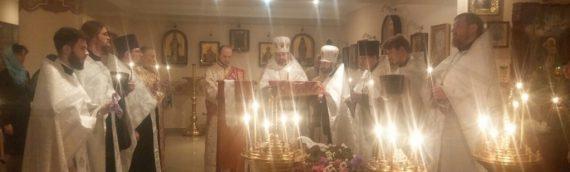 Состоялось отпевание новопредставленного протоиерея Владимира Нелепы.