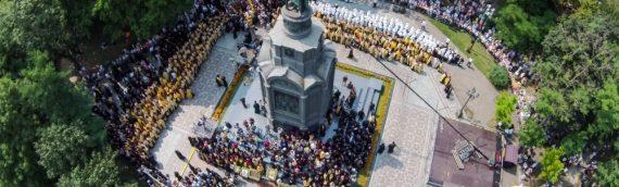 Клирики храма святых бессребреников Космы и Дамиана Римских приняли участие в праздничных мероприятиях по случаю празднования Дня Крещения Руси и 1000-летия древнерусского монашества на Святой Горе Афон.