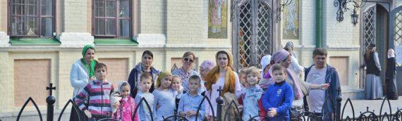 Дети воскресной школы нашего храма совершили паломничество в Свято-Троицкий Ионинский монастырь.