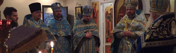 Благочинный Оболонского благочиния настоятель храма святых бессребреников Космы и Дамиана Римских прот. Владимир Терещук отметил свое 40-летие.