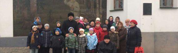 Дети нашей воскресной школы посетили с экскурсией Свято-Вознесенский Флоровский монастырь.