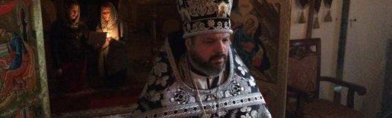 Последняя в этом году Литургия Преждеосвященных Даров в нашем храме.