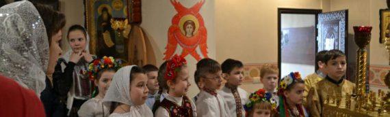 Поздравление детей воскресной школы с праздником  Светлого Христова Воскресения!