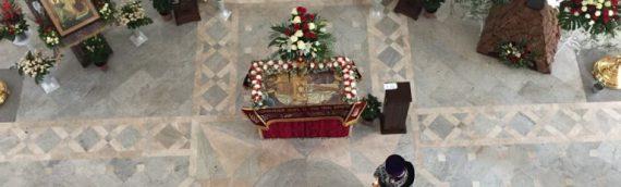 Утреня Великой Субботы. Погребение плащаницы. Благовещение Пресвятой Богородицы.