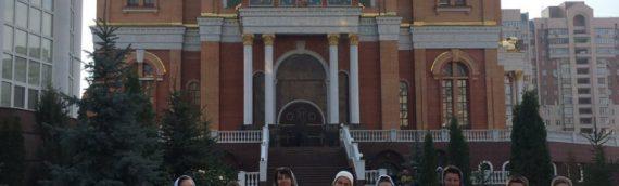 Паломничество  детской воскресной школы в Покровский храм.