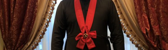 Благочинный Оболонского района был награжден Орденом «ВЕРА.ГОСУДАРСТВО.ЧЕСТЬ.» (СВЯТОГО КНЯЗЯ ВЛАДИМИРА ? СТЕПЕНИ).