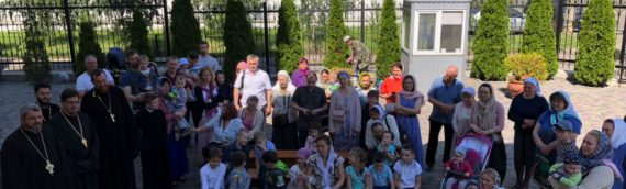 Выступление  деток воскресной школы.