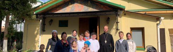 Дети воскресной школы совершили паломничество в Свято-Кирилловский мужской монастырь.