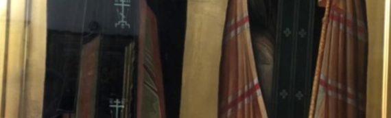 Освящение иконы свт. Луки Крымского и преп. Иоанна Затворника Святогорского.