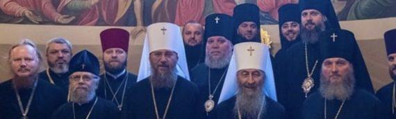 Благочинный Оболонского благочиния принял участие в поздравлении Предстоятеля УПЦ.