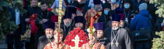 Благочинный Оболонского района  принял участие в заупокойной литии по погибшим в годы Второй мировой войны.