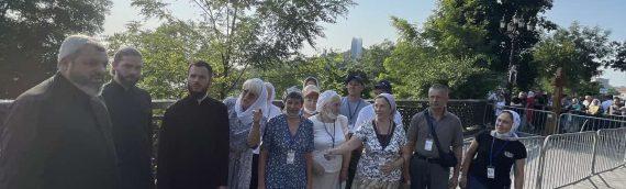 Духовенство и прихожане нашего храма приняли участие в подготовке и проведении торжеств по случаю празднования 1033-летия Крещения Руси.